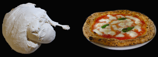 "Metamorphosis of pizzaiolo's ""marble"""