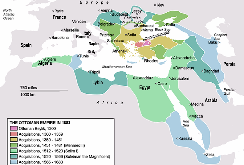a comparison between the contributions of the spanish and ottoman empires Compare aztec and roman empire essays comparison between the british a governmental system developed relationships between the people of the empires and.